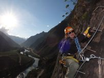 via ferrata skylodge Sacred Valley Peru
